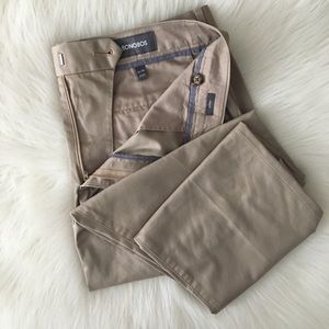 New Bonobos Stretch Weekday Warriors Pants 34 Tan